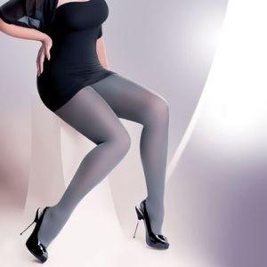 Gray Pantyhose Medium Steel Stockings Tights